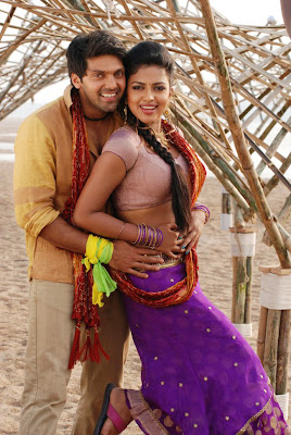 Arya and Amala Paul Hot Stills in Vettai
