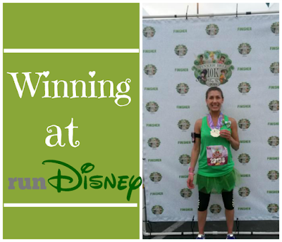 Run disney age group award tinkerbell 10k
