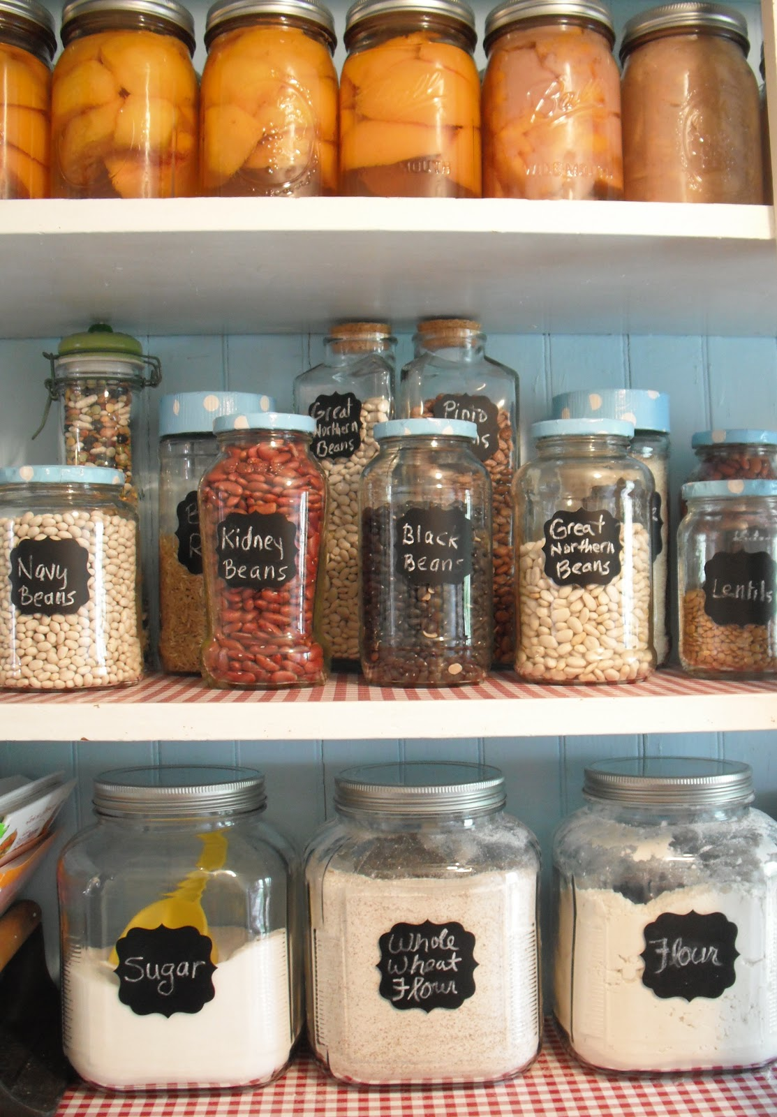 Totally real an organized pantry for Kitchen jar ideas