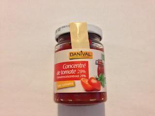 Concentré de tomates 28% Danival bio