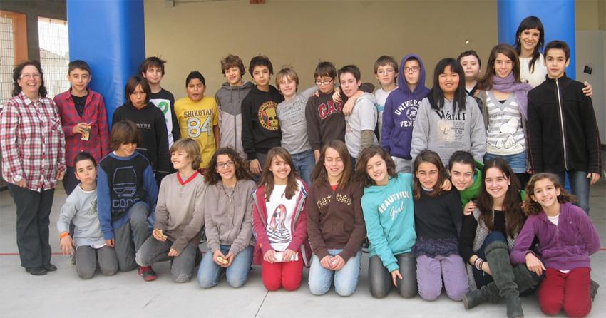 La classe de sisè del Patronat 2012-2013