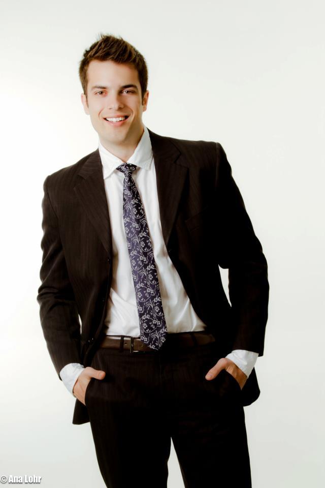 Bruno Vanin tem 22 anos e faz faculdade de direito. Foto: Ana Lohr