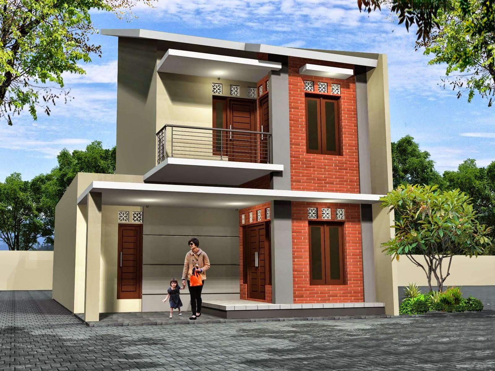 Contoh Design Rumah Minimalis Terbaru 1 Lantai