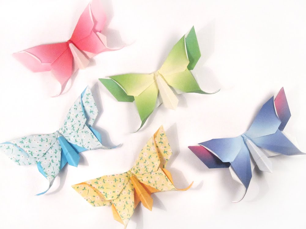 origami butterfly make it for a simple sweet souvenir