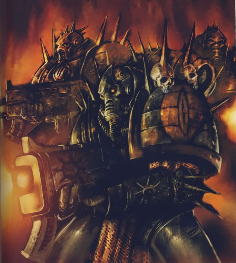 Warhammer 40k Chaos Space Marines: Chaos Space Marine Codex Date Confirmed