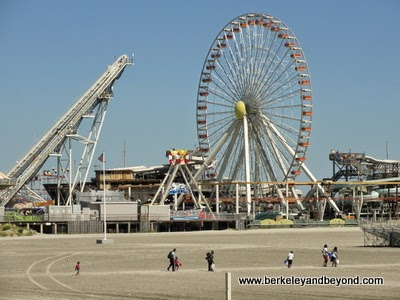 Wildwood Amusement Piers at Wildwood Boardwalk in North Wildwood, New Jersey