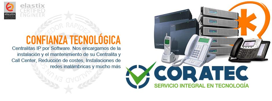Coratec Instalación de Centralitas y Call Centers Madrid