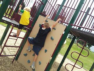 park, kids, summer