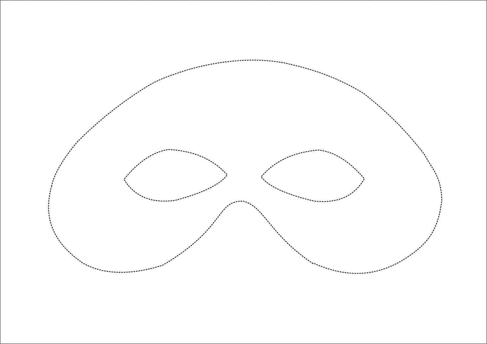Dorable Plantilla De Máscara De Ovejas Embellecimiento - Ejemplo De ...