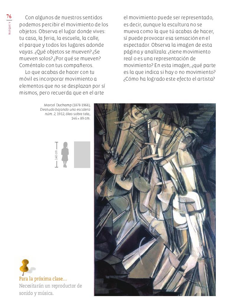 Leer con emoción Educación Artística 4to Bloque 5 2014-2015