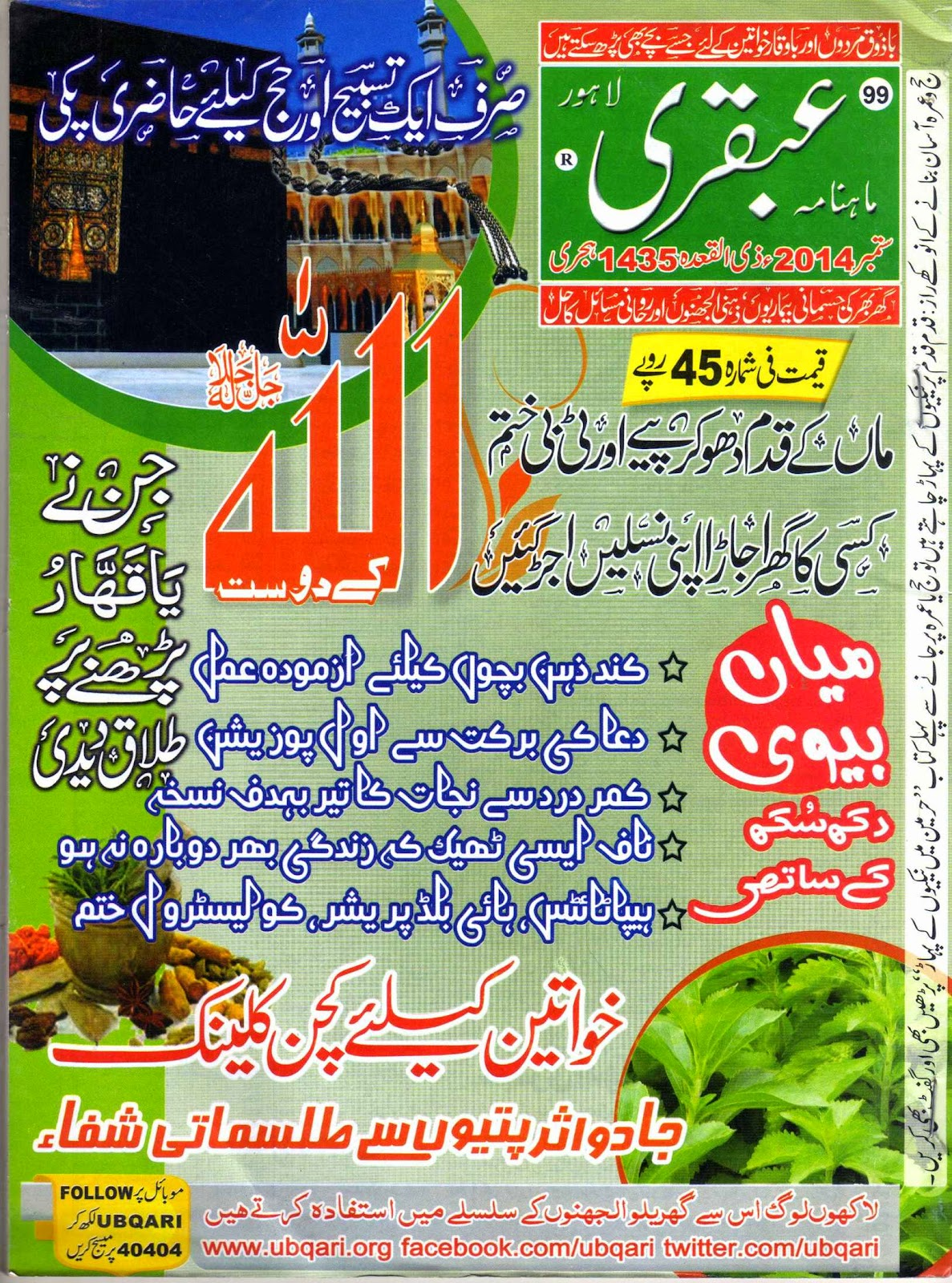 Ubqari-Magazine-September-Tital-Page