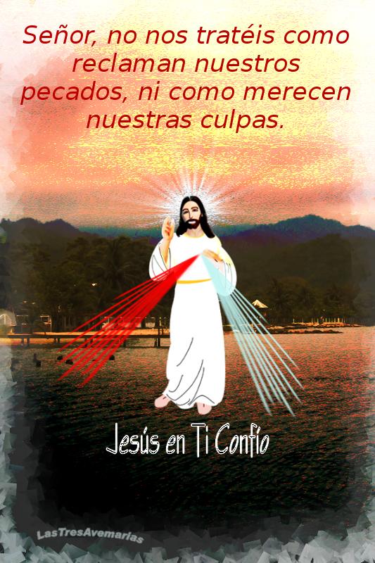 imagen de jesus misericordia con oracion