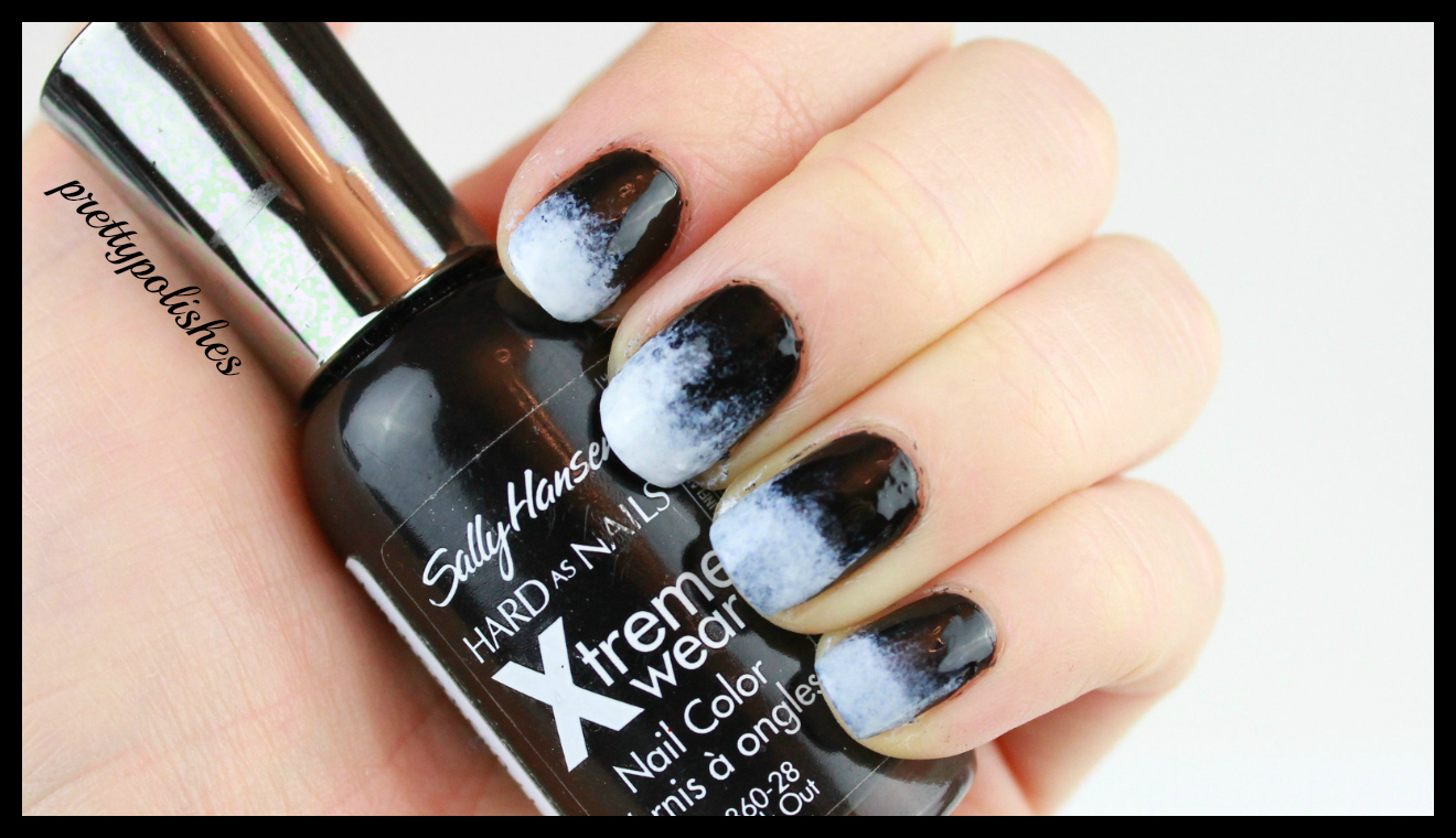 Black Polish Sally Hansen Extreme Wear Out Base Coat Essie First Top Diamond Flash Makeup Sponge