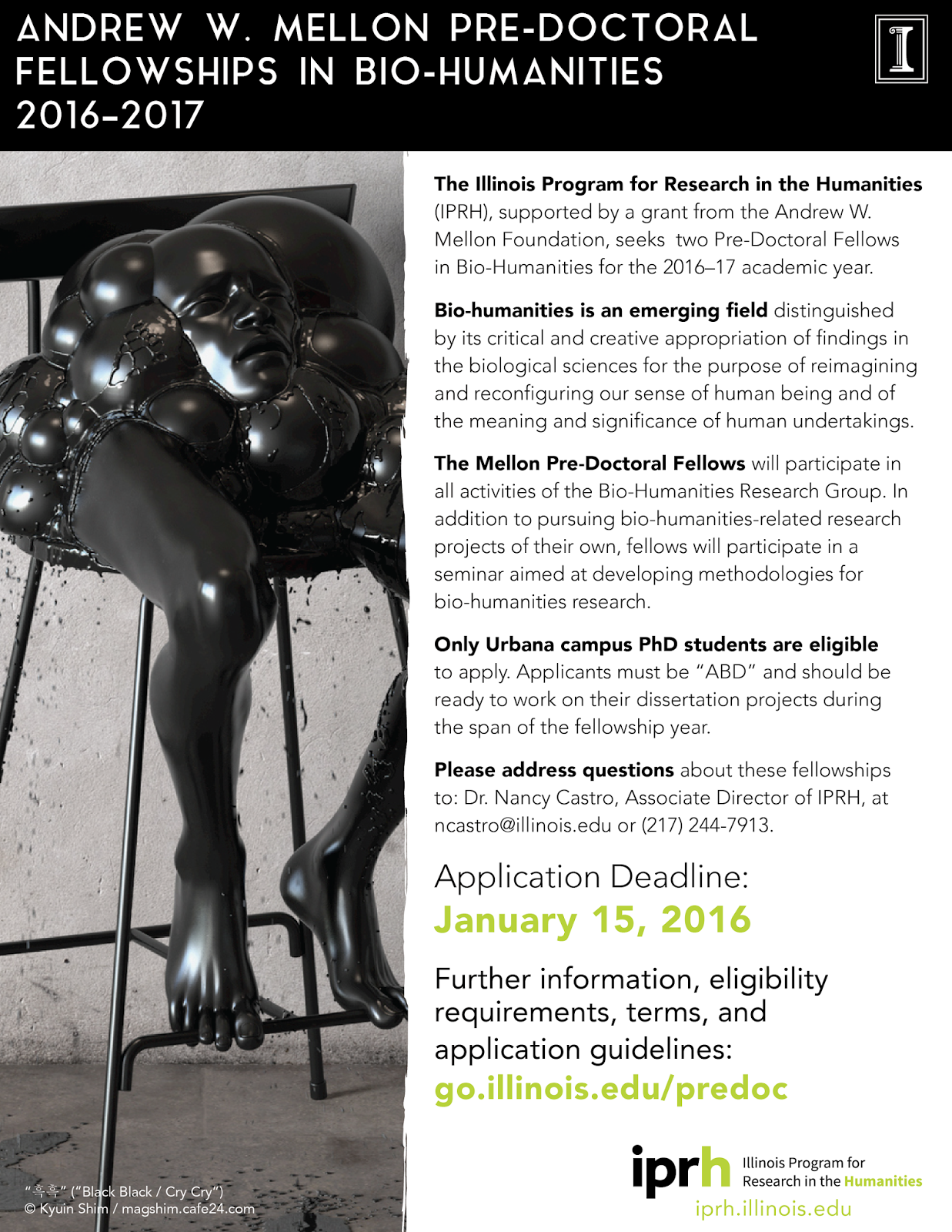 ihr mellon fellowships for dissertation research in the humanities Dissertation fellowships  these grants listings are provided as a service to uf humanities scholars please verify all submission deadlines and other information with the respective granting offices or agencies.