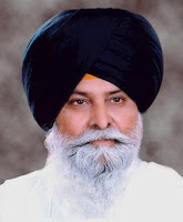 Sant Singh Maskeen - face