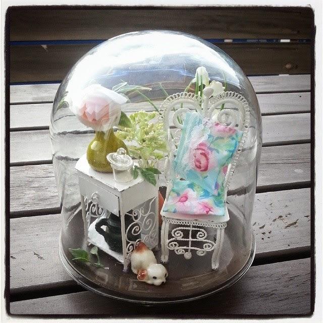 Bad Voor In De Badkamer ~ Silly's wonderlijke freubels Minituintje in een stolpvaas