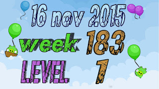 Angry Birds Friends Tournament  level 1 Week 183