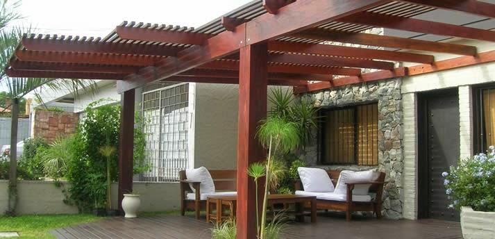 Gallart grupo el blog suelos y puertas de madera en - Pergolas de aluminio para jardin ...