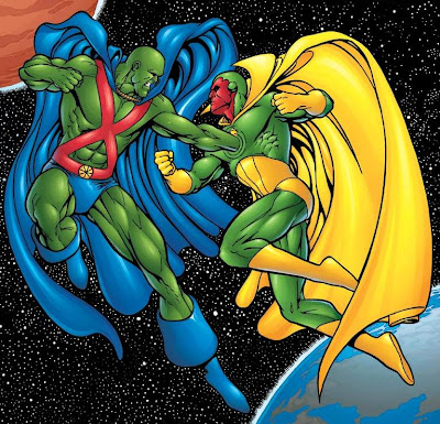 Martian Manhunter vs Vision