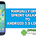 Update Sprint Galaxy S5 (SM-G900P) to Official Android 5.0 Lollipop