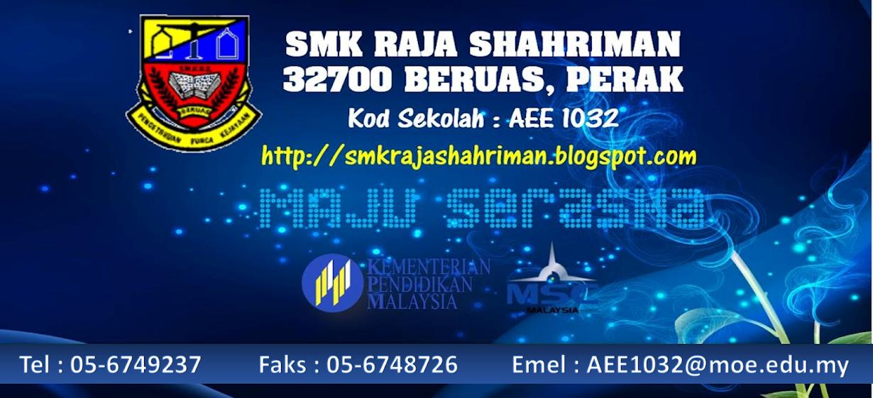 SMK RAJA SHAHRIMAN