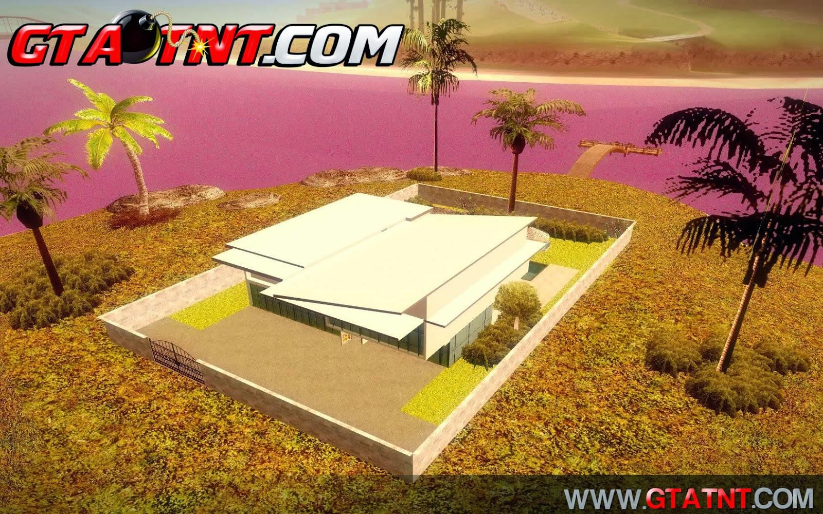 Gta sa new modern house nova casa gta na faixa http for Casa moderna gta sa