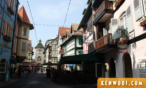 bukit tinggi french village