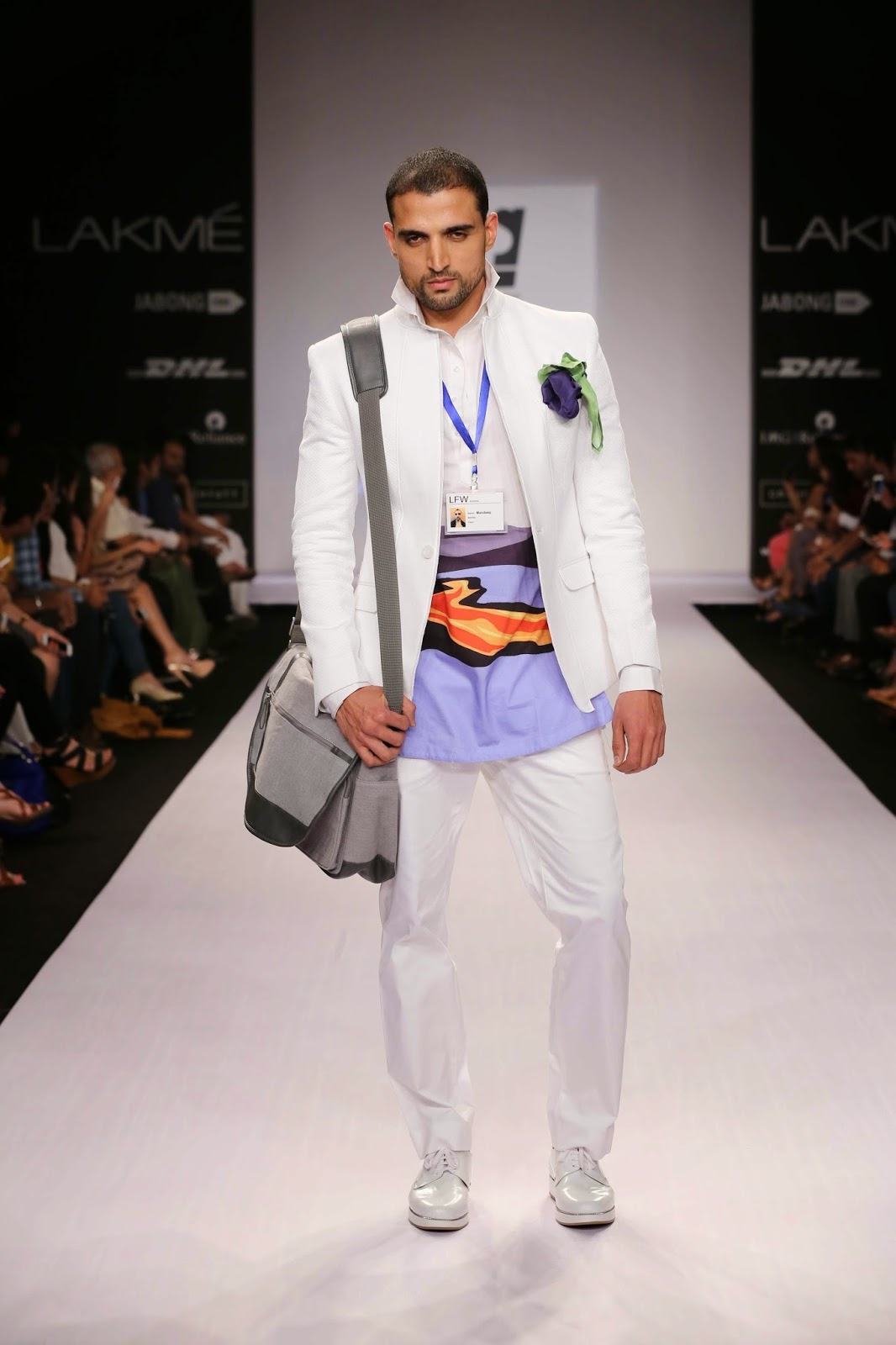 Bringing in a relaxed aspect to the garments; Sanjay Hingu's offered  a great trendy look for men who want to relive their happy childhood memories in an innovative manner through their fashion statements.