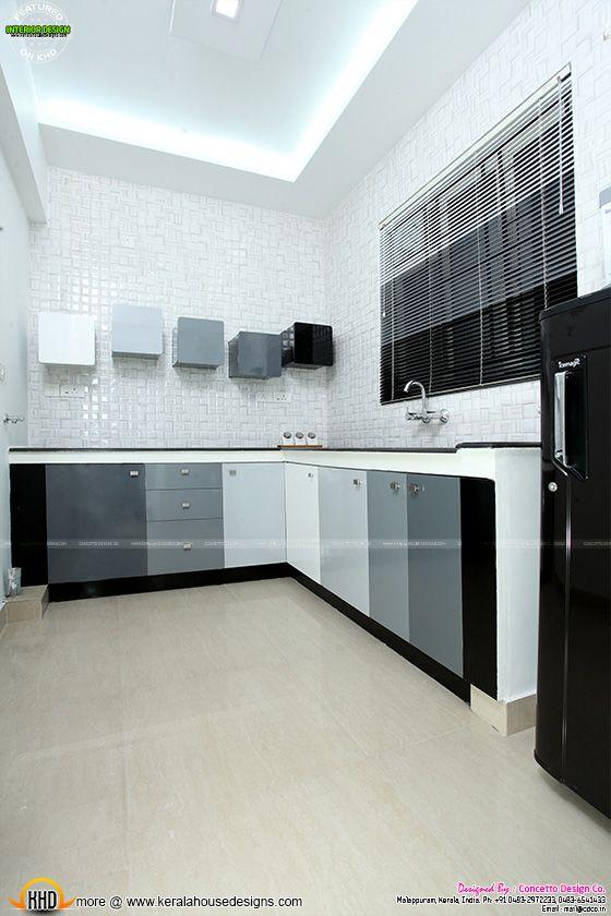 Kitchen after furnished