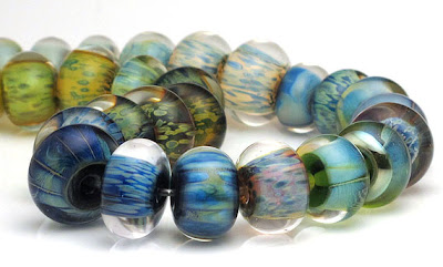 Double Helix encased beads