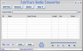 FairStars Audio Converter