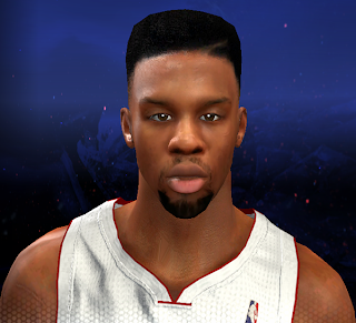 NBA 2K14 Norris Cole Next-Gen Face Mod
