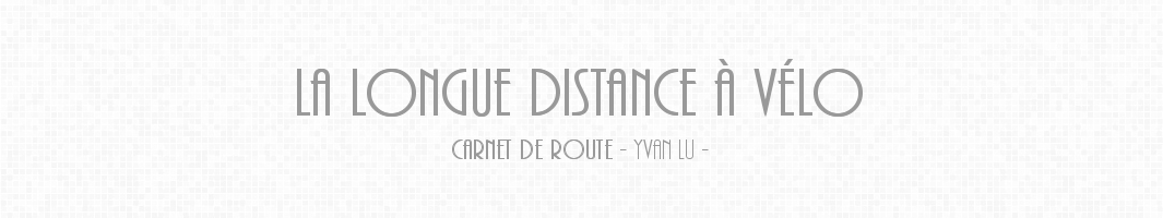 La longue distance à vélo