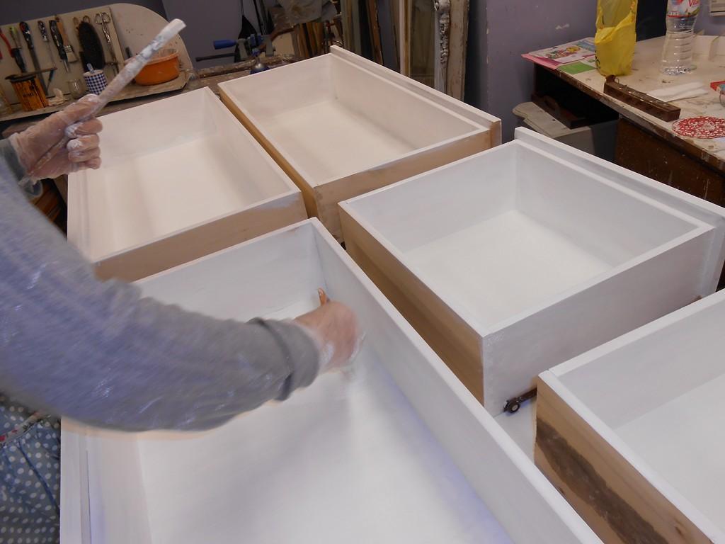 Candini muebles pintados nuevos y redecorados tienda - Restauracion de muebles barcelona ...