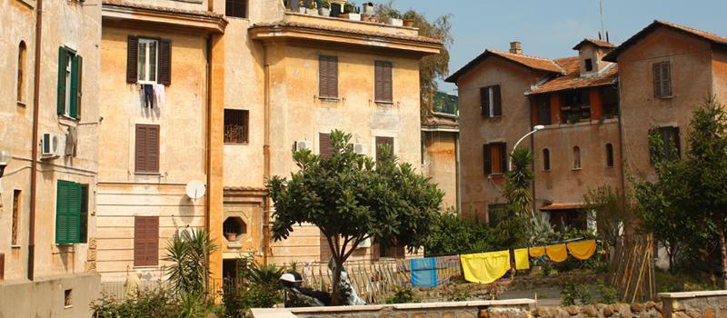Passeggiata per le vie della GARBATELLA tra la sua storia e l'architettura