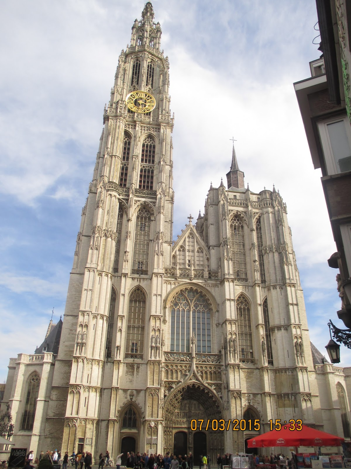 OLV-kathedraal in Antwerpen