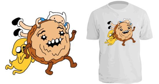 Cinnamon Bun T-Shirt Adventure Time
