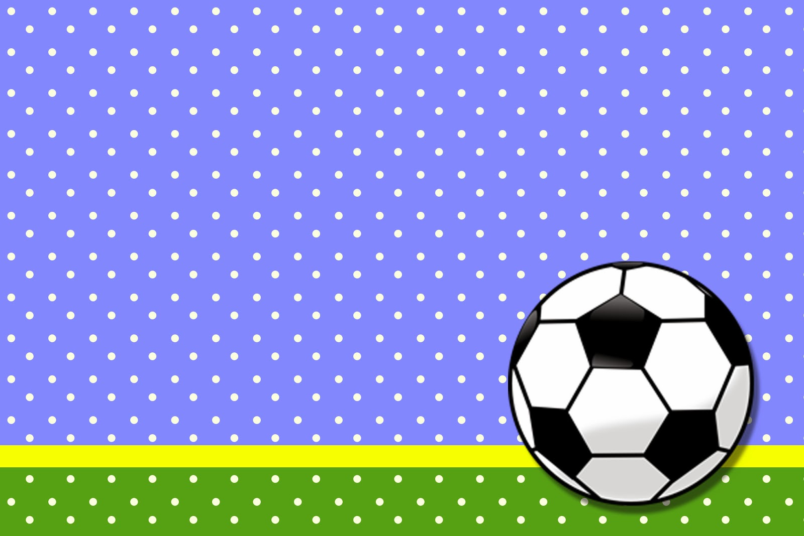Soccer Party Invitation Templates Free