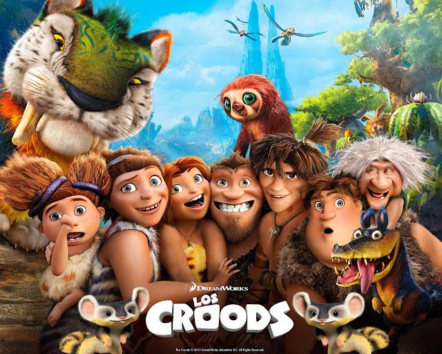 Los Croods Una Aventura Prehistorica