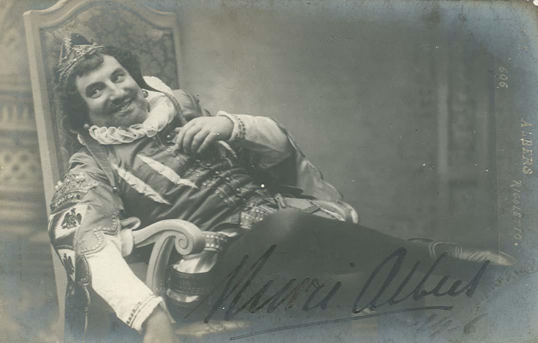 BELGIAN BARITONE HENRI ALBERS (1866-1925) CD
