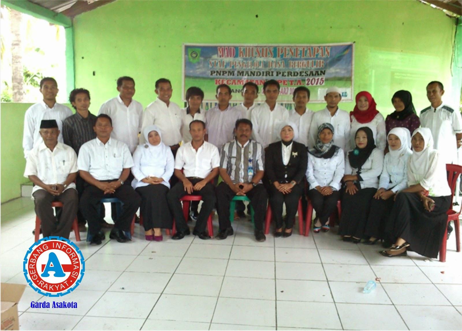 Dibentuk BKAD Penyalur Dana PNPM Mandiri di Kecamatan Sape