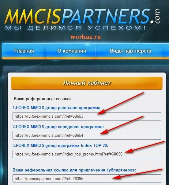 Партнерская программа от MMCIS group