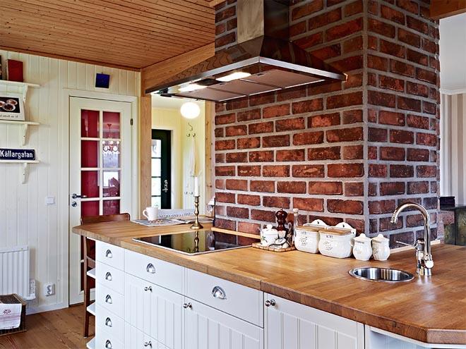 Estilo rustico casa de campo nordica - Cocinas rusticas de campo ...