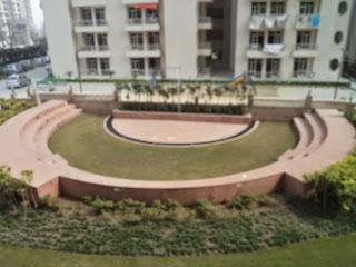 Livingston:: Construction Status on July 2014:-Amphitheater
