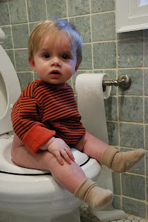 Everett on the Potty