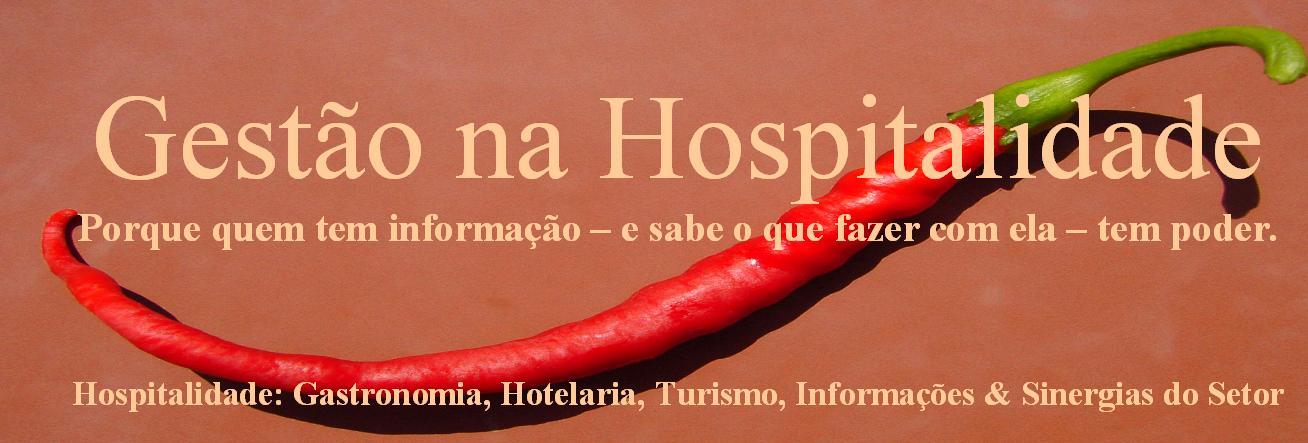 Gestão Na Hospitalidade