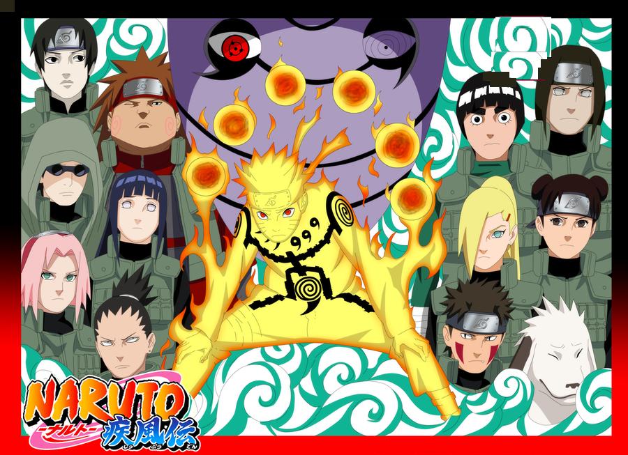 لعبة حرب نارتو  Naruto War اون لاين - العاب اكشن