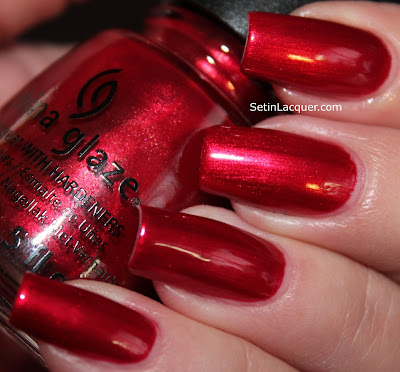 China Glaze Cranberry Splash