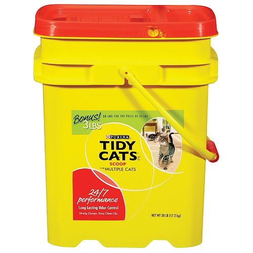 Ve Lid From Tidy Cat Litter