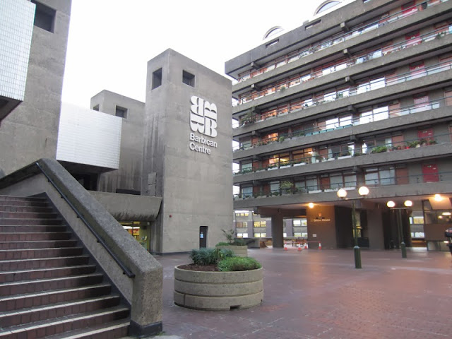 The Barbican Centre, part of London's Barbican Complex